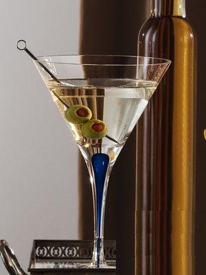 Intermezzo Blå Martini - Orrefors Martiniglas