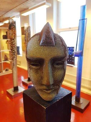 Head of Janus Big Horn - Kosta Boda