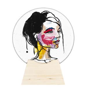 Face Of Colours Gold - Ladies Woodrow  Kosta Boda