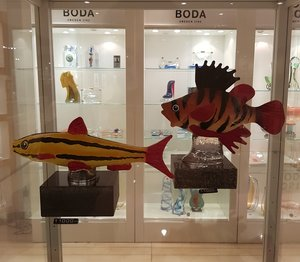 Fish Red Yellow Limited - Kosta Boda
