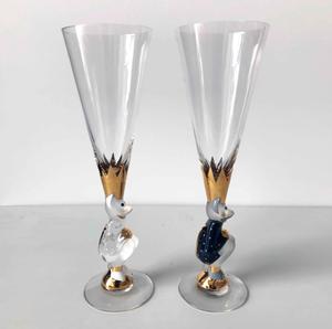 Nobel Sparkling Devil Glass  Duo