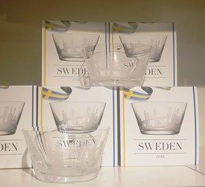 Sweden Bowl Cities - Orrefors
