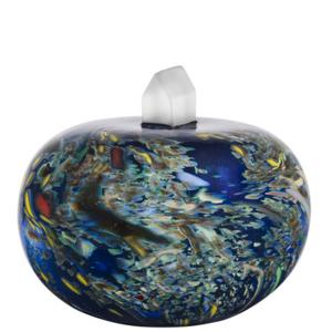 Earth Skulptur My Universe Blå Mix- Kosta Boda