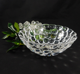 Raspberry Bowl Clear Small