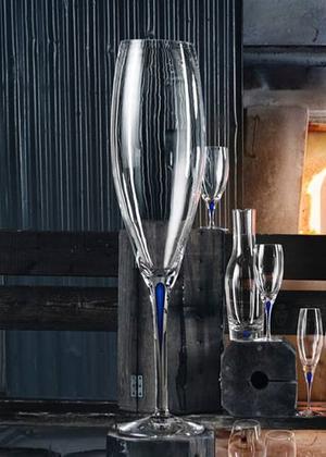 Intermezzo Blå Big Champagneglas