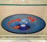 Plate Blue/Red Unique