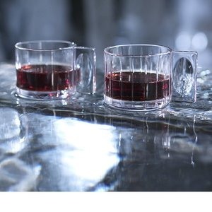 Hotto Espresso/Mulled Wine Stripes 2-pack