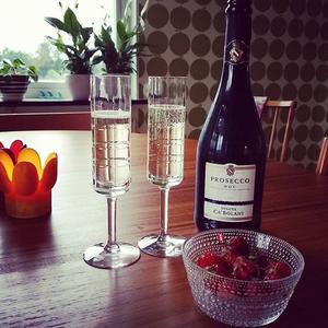 Street Champagneglas