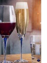 Intermezzo Blue Champagne Flute