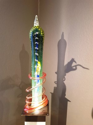 Sculpture High Green - Kosta Boda Unique
