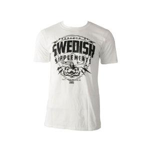 SS T-Shirt Classic Shield White