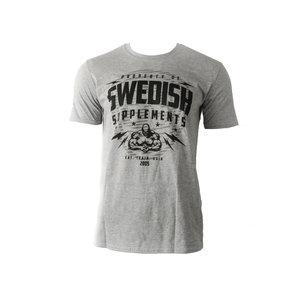 SS T-Shirt Classic Shield Grey