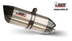 MIVV - Suono Rostfritt stål med kolfiber top