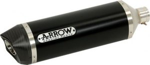 ARROW Dark Aluminium Med kolfiber avslut