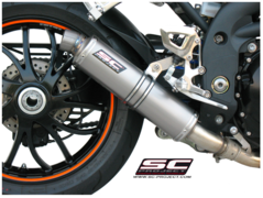 SC-project - GP Silencer - Low Position Kolfiber