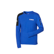 Paddock Blue Long-sleeved T-Shirt - Herr