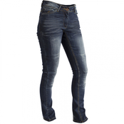Bolt Ladies Jeans Stretchy Scuba - Blå