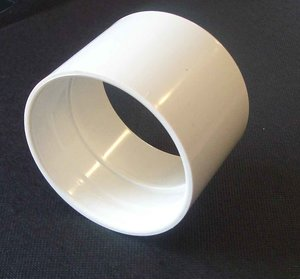 Rör 50 mm, skarvmuff, 10 st