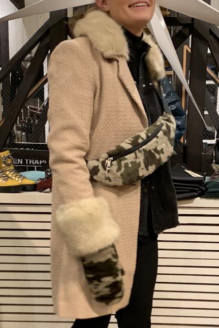 Daya Faux Fur Coat