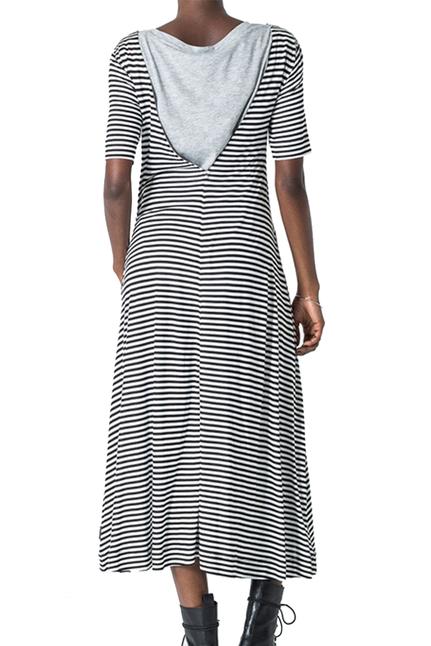 Disown Stripe Dress