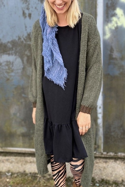 Lorrie Long Knit Cardigan