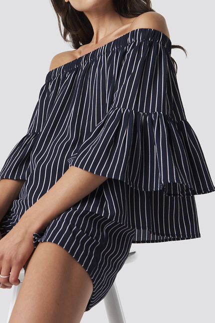 Fatima Stripe Blouse