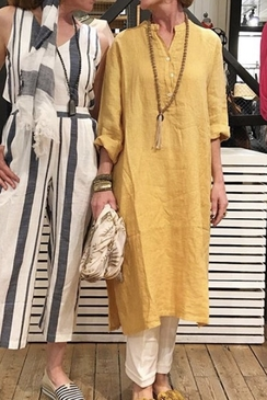 Tiffany Short Dress Linnen