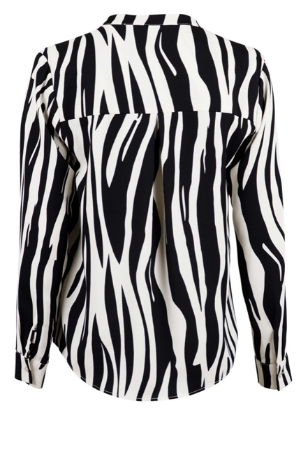 Pandora Mega Zebra Blouse