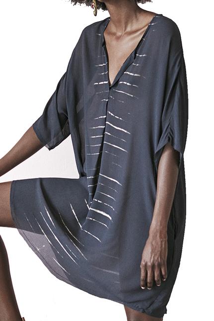 Sindy Leaf Scarf Dress