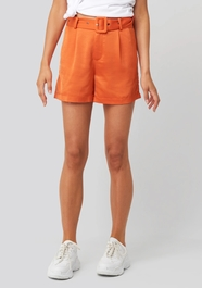 Kelly Satin Belt Shorts