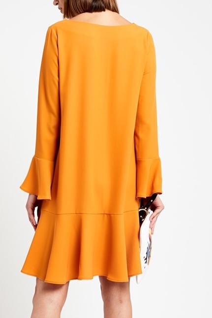 Flared Short Dress