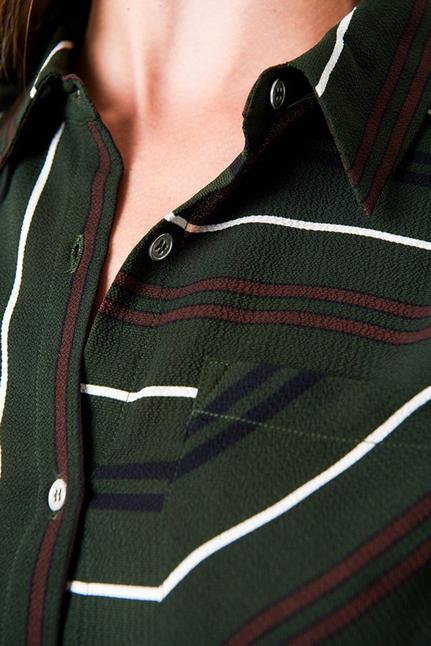 Evelyn Stripe Shirt