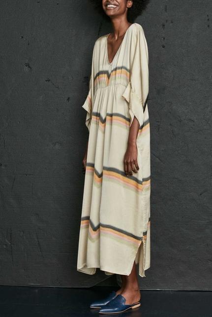 Rainbow Kaftan Dress