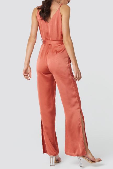 Inez Slit Jumpsuit