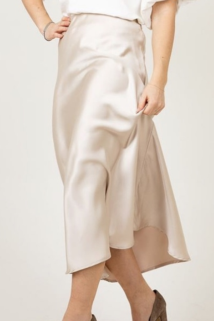 Bovary Champange Skirt