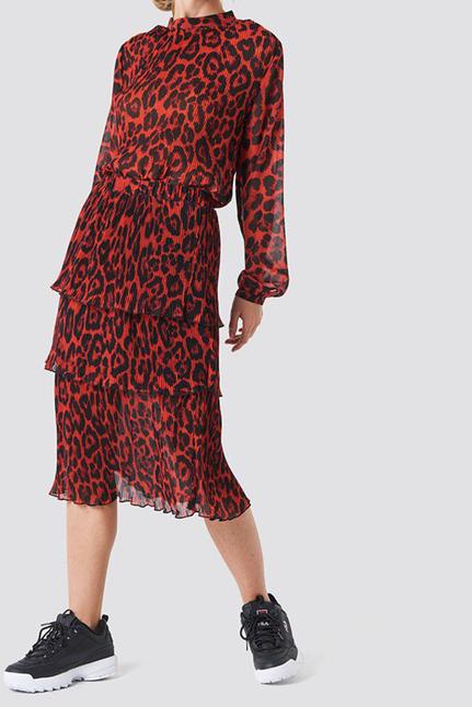 Layer Pleat Skirt