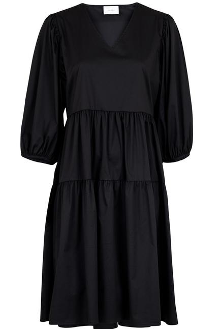 Ferm Solid Dress