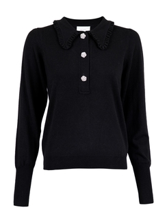 Gemma Diamond Knit Blouse