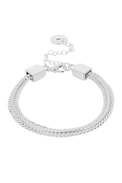 Indian Summer Chain Bracelet Rhodium Plated