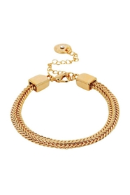 Indian Summer Chain Bracelet Goldplated