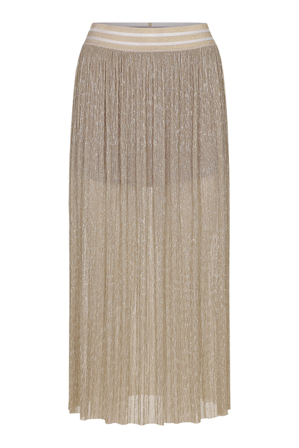 Phie Liquid Gold Skirt