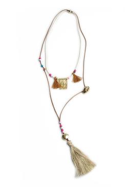 Halsband Choupy Beige - Hipanema