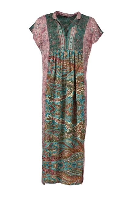 Luna Sleeveless Kaftan Dress