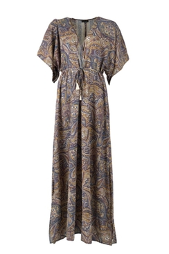 Luna Waistline Kaftan Dress