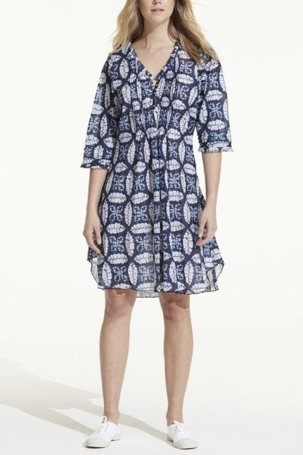 Morocco Middy Poppy Dress