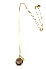Glam Glam Necklace Gold Smokey