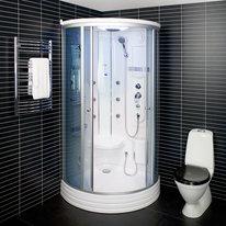 Kabina prysznicowa z hydromasażem parowa 6116
