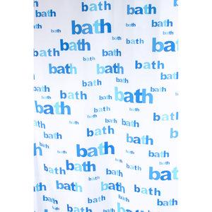 Zasłona łazienkowa BATH niebieska