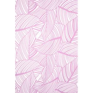 Zasłona łazienkowa LEAVES fioletowa