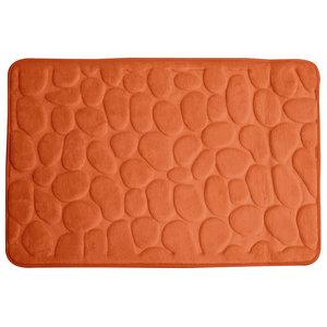 Dywanik łazienkowy RIMINI pomarańczowy